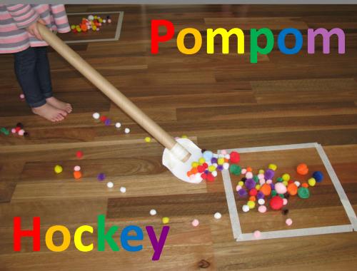 Pompom-Hockey