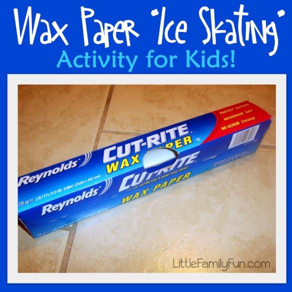 WaxPaperIceSkating