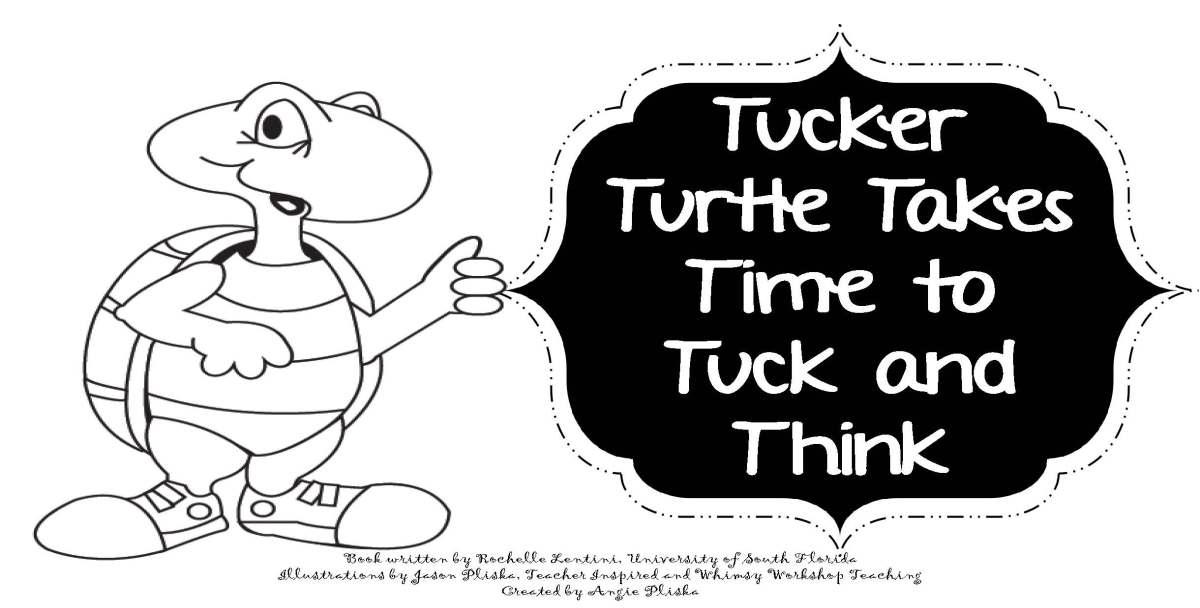Tucker Turtle Coloring Book